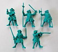 Set 5 Peter the Great Preobrazhensky Regiment Plastic Toy Soldier 1/32 Tehnolog