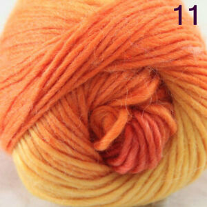 SALE Lot 1Ball X 50g NEW Chunky Colorful Hand Rugs Knitting Scores Wool Yarn 11