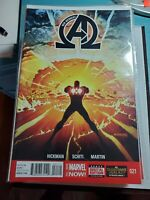 New Avengers #21 VF (2013 Series) Marvel Comic Hickman