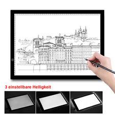 A3 LED Leuchttisch Grafiktablett USB Touchpad Animation Tracing Pad Lightbox