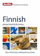 Phrase Book: Berlitz Language - Finnish by Berlitz Publishing (2014, Paperback)