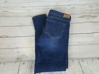 Aeropostale Blue Wash Jegging Stretch Distressed Skinny Fit Women Jeans Size 6S