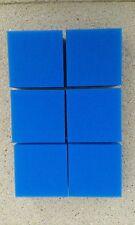 6 x Foam Pads Filter / Sponge Fish Tank Compact Replacement For Juwel Fine