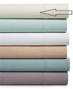 Westport Home 600 Thread Count King Extra Long Flat Sheet Ivory $140