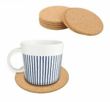 Dining Table Coasters Kitchen Cup Place-mats Wooden Tableware Pad Non-slip 6 Pcs