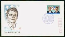 Mayfairstamps Korea FDC 1972 President Reagan Visit First Day Cover wwf_41331
