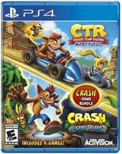 Crash Team Racing + Crash Bandicoot N.Sane Trilogy Bundle (Playstation 4 / PS4)