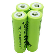 4X 3.7V 18650 8800mAh Li-ion Rechargeable Battery for Flashlight Torch Headlamp
