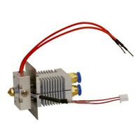 Geeetech Mix Color Hotend Dual Extruder 2 in 1 out for A10M A20M  0.4mm Nozzle