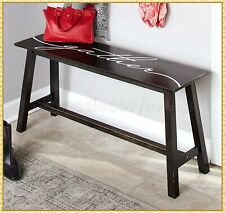 Farmhouse Sentiment Wooden Bench Entryway Living Room Bedroom Furniture Gather