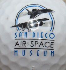 SAN DIEGO AIR SPACE MUSEUM LOGO GOLF BALL
