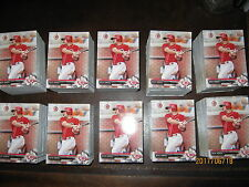 10 sets of 2017 Bowman Prospects sets (150) Nick Senzel 2018 majors and minors