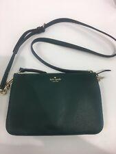 NWT Kate Spade Larchmont Green Emerald Madelyne Crossbody Bag