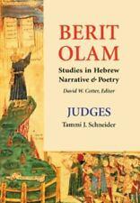 Berit Olam: Judges by Schneider, Tammi  J.