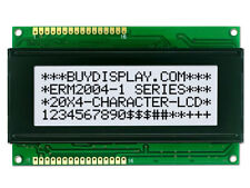 5V 20x4 LCD Character Module Display,w/Tutorial,HD44780,White Backlight.Bezel