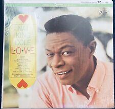 NAT KING COLE - LOVE - VINYL LP STEREO 2195 EX Shrink