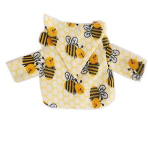 Bumble Bees Small Dog Hoodie Little Dog Coat Jacket Size M S XS XXS XXXS