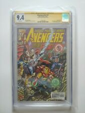 Avengers Vol.3 #21     Signed by Artist George Perez.   CGC Signature Series