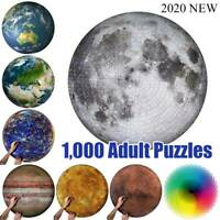 The Moon -Puzzle 1000 Pieces Jigsaw Puzzle Kids Adult Planets Maps Jigsaw Puzzle