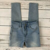 American Eagle Hi Rise Jegging Jeans Size 0 Short Womens Skinny 360 Stretch