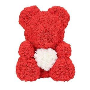 Orsetto di rose idee regalo san valentino per lei orso orsacchiotto con scatola