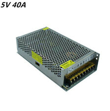 5V 40A 200W Switching Switch Power Supply Driver for LED Strip lights CNC 3D Pri