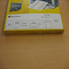 Top Stick Universal-etiketten 38 1 X 21 2 Mm weiß