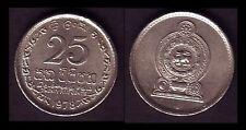 ★★ CEYLAN / CEYLON / SRI LANKA ● 25 CENTS 1978 ● E10 ★★