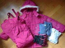 KINDERBUTT: toller SKIANZUG in pink, Gr.152/158 + Wäsche + Handschuhe dazu !!!
