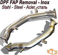 Downpipe DPF FAP Suppression AUDI A4 (8K5 B8) 2.0 TDI 120 136 143 163 HP VAG2