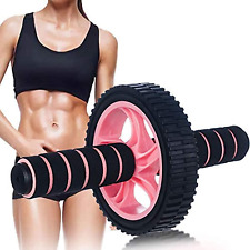 Ab Roller Wheel Exercise Equipment None Noise Ab Roller for Abs Workout Ab Wheel