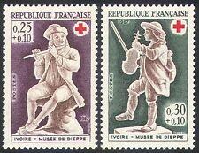 France 1967 Red Cross/Medical/health/Welfare/Music/Musicians 2v set (n20399)