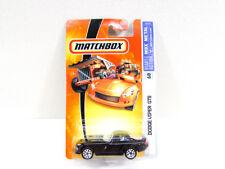 Matchbox Dodge Viper GTS Black Car NIP 2006 Thailand