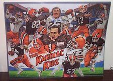 DOUG DIEKEN Cleveland Browns SIGNED 16x20 Poster w/ COA