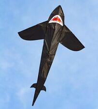 Shark Kite Hai-Drachen 210x134 cm Einleiner HQ Kite Kinderdrachen