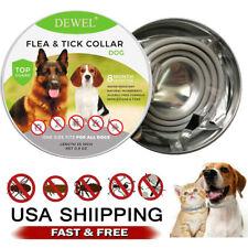 Dewel Cheaper than Seresto! Flea Tick Control Collar FOR Small Large Dog 8 Month