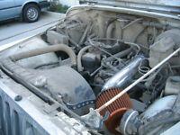 BCP RED 91-95 Jeep Wrangler 2.5L L4 4.0L V6 Short Ram Air Intake