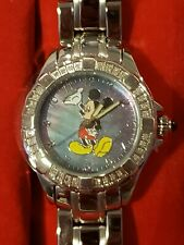 Disney Affinity Mickey Mouse watch  Mother of Pearl Dial Diamonds Watch NIB
