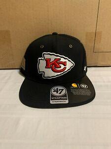 Kansas City Chiefs NFL '47 Brand Carhartt Mens Black Strapback Adjustable Hat