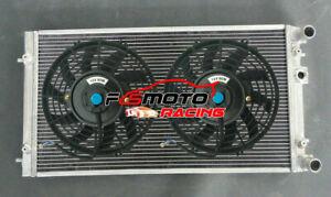 Alu Radiator + Fans For VW BEETLE 1.8 1.9 2.0 2.5 L4 4CYL L5 5CYL 1998-2009 MT