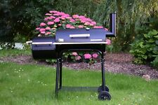 Chillroi Grill Smoker BBQ Holzkohle Barbecue Grillwagen Ofen Holzkohlegrill