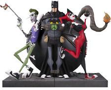 BATMAN - Joker & Harley Quinn DC Gallery Bookend Set (DC Comics) #NEW