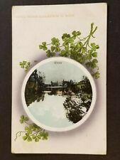 1915 Navan Ireland County Meath Blackwater Bridge Illustrated Postcard Cover