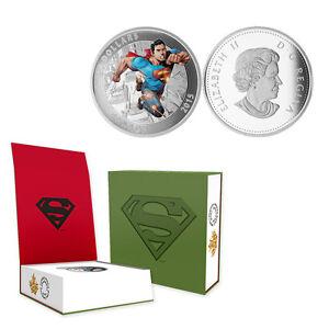 2015 Canada  $20 Superman Action Comics #1, 1 oz. Silver Proof Coin w/OGP + COA