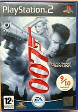 James Bond 007 EVERYTHING OR NOTHING PS2 Game Based on Film Sony Playstation 2