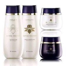 Oriflame Royal Velvet Set - Cleansing Milk, Toner, Day and Night Cream, New SALE