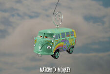 Fillmore Disney Pixar Cars Volkswagen T2 Bus Ornament VW Van Split Window Samba