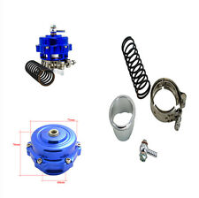 50Mm Blue Flange Diameter Car Blow Off Valve 35PSI Boost Pressure V-Band Clamp