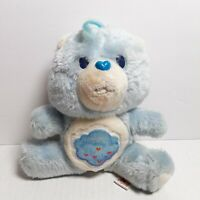 "VTG 1983 AGC Kenner Care Bears Grumpy Bear Blue 6"" Plush Toy Stuffed Animal"
