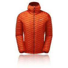 Montane Mens Icarus Lite Jacket Top - Orange Sports Outdoors Full Zip Hooded